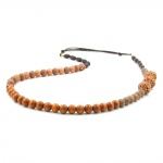 Necklace, Nougat/Light Brown/Dark Brown Colours