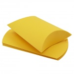 Gift Box, Easy Building, Bright Yellow