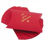 Gift Box, Easy Building, Red -Frohe Weihnachten-