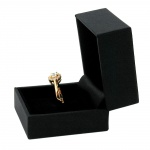 Premium Boxes, Boxes for one Ring, Black