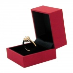 Premium Boxes, Boxes for one Ring, Red