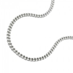 necklace, thin curb chain, silver 925