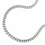 NECKLACE, THIN CURB CHAIN, SILVER 925, 60CM