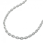 NECKLACE, ANCHOR CHAIN, SILVER 925, 60CM