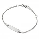 ID Bracelet, Anchor Chain, Silver 925