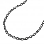 necklace, thin anchor chain, silver 925