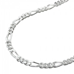 NECKLACE, FIGARO CHAIN, SILVER 925, 70CM