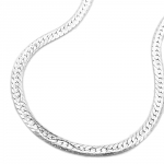 thin magic flex chain, silver 925