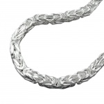 Necklace, Byzantine Chain, 7mm, Silver 925