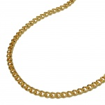 Curb Chain, Gold Plated