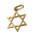 Pendant, Star of David, 14K Gold