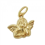 Pendant, Small Angel, 9K Gold