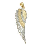 Pendant, Angel Wing, 9K Gold