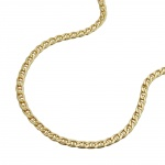Necklace, Thin Mariner Chain, 45cm, 9K Gold