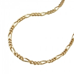 necklace 45cm figaro chain, 14K GOLD