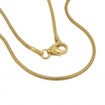snake chain, 50cm, 1.2mm, 14K GOLD