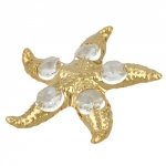 Star fish with 5 crystal elements