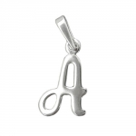 Pendant, Initial A, Silver 925