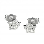 EARSTUDS, SMALL ANGEL, SILVER 925
