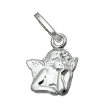 PENDANT, SMALL ANGEL, SILVER 925