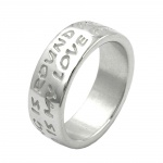 RING, 'LOVE HAS NO END', SILVER 925