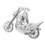 PENDANT, MOTORCYCLE, SILVER 925
