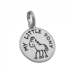 Pendant, MY LITTLE PONY, Silver 925