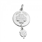 PENDANT, FOR YOU ENGRAVED, SILVER 925