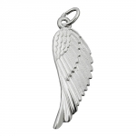 PENDANT, WING, SILVER 925