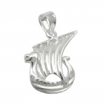 pendant little viking ship silver 925
