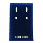 Velvet Card Display, 'ECHT GOLD'