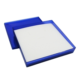 gift box, universal, blue transparent