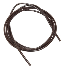 Leather Cord brown, 2mm, 100cm