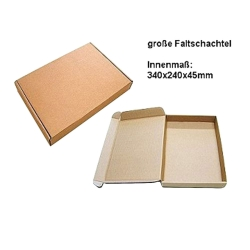 Foldable Box, Large, Brown, Pre-Punched