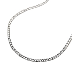 necklace, curb chain, stainless steel