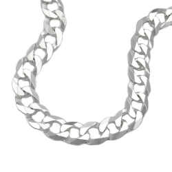 Necklace, Open Curb Chain, Silver 925, 50CM