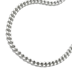 Necklace, Curb Chain, Silver 925, 50CM