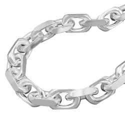 anchor chain 8x8mm, silver 925