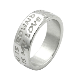 Ring, LOVE HAS NO END, Silver 925