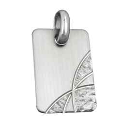 PENDANT TO BE ENGRAVED, SILVER 925