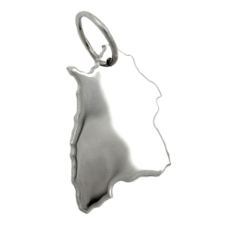 Pendant, Federal State of Germany, Silver 925