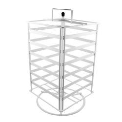 Spinning Jewellery Display, White