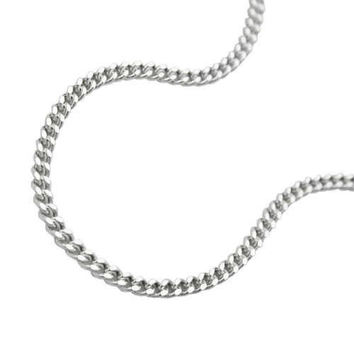 Necklace, Thin Curb Chain, Silver 925, 40CM