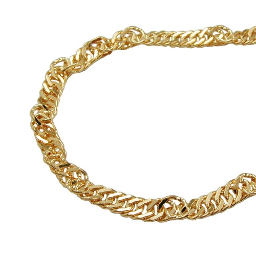 belly chain, singapore chain gold plated