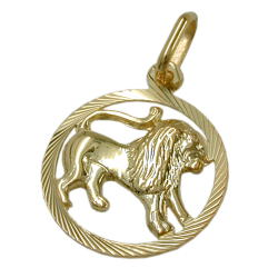 Zodiac pendants GOLD