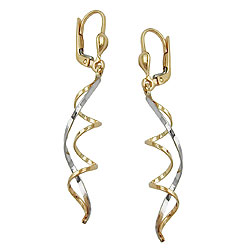 Leverback earrings without stone GOLD