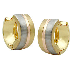 Hoop Earrings, Gold