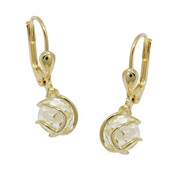 Leverback/Hook Earrings, GOLD