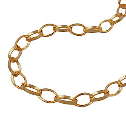Bracelets 14-20cm/5.5-7.9in Gold-plated
