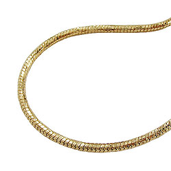 Chains 55cm/21.7in Gold-plated